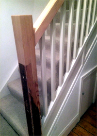 Staircase Spindles Newcastle
